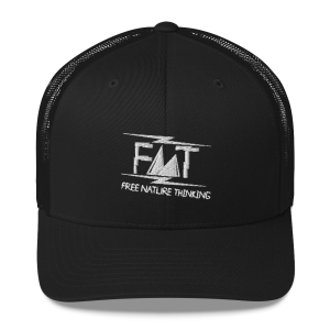 Free Nature Thinking Trucker Cap