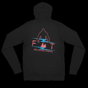 FNT Unisex zip hoodie