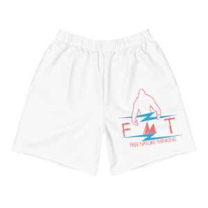 FNT White Men's Shorts