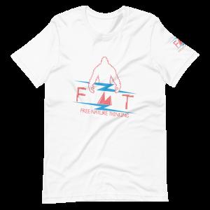 FNT Color Logo Front Short-Sleeve Unisex T-Shirt